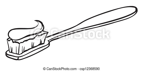 A toothbrush - csp12368590