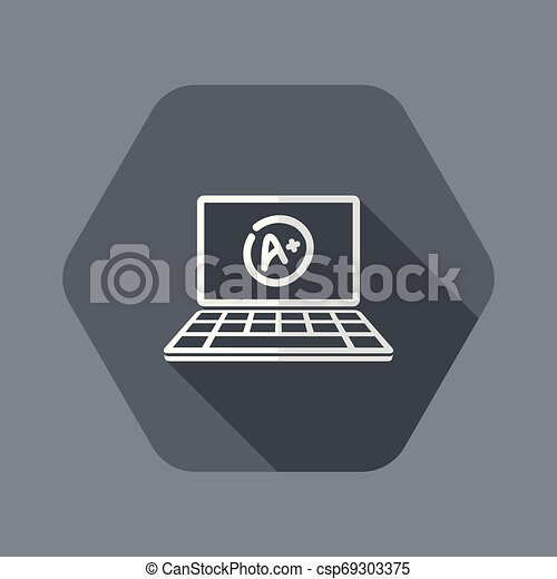 A+ top evalutation - Vector flat icon - csp69303375