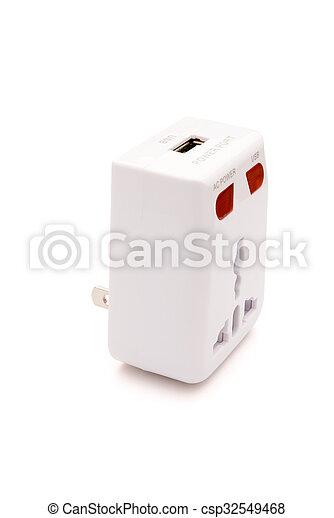 a universal adapter - csp32549468