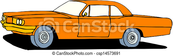 A Vector illustration of car - csp14573691