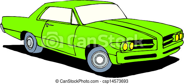 A Vector illustration of car - csp14573693