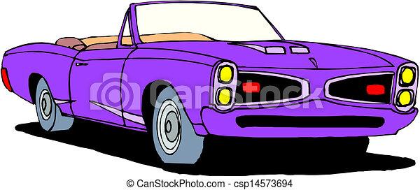 A Vector illustration of car - csp14573694