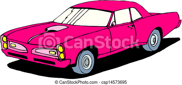 A Vector illustration of car - csp14573695