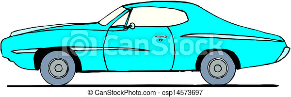 A Vector illustration of car - csp14573697