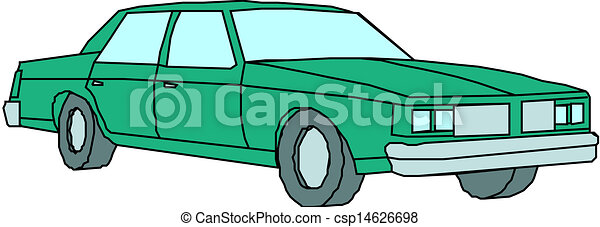A Vector illustration of car - csp14626698