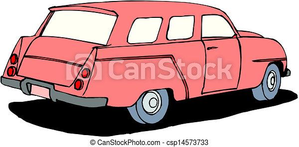 A Vector illustration of car - csp14573733