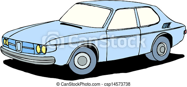A Vector illustration of car - csp14573738