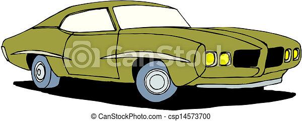 A Vector illustration of car - csp14573700