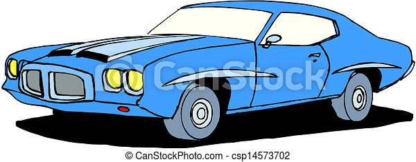 A Vector illustration of car - csp14573702