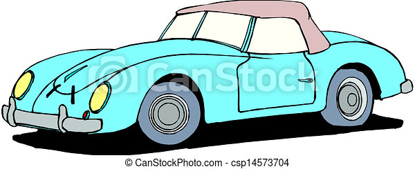 A Vector illustration of car - csp14573704