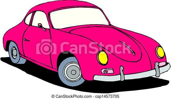 A Vector illustration of car - csp14573705