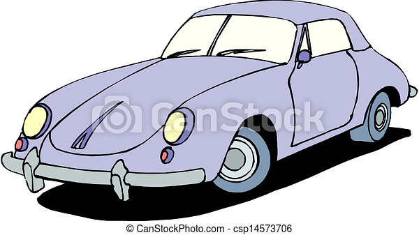 A Vector illustration of car - csp14573706