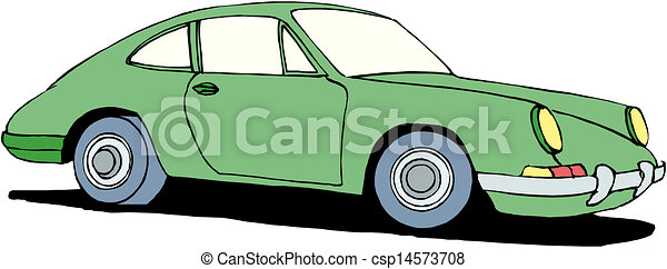 A Vector illustration of car - csp14573708