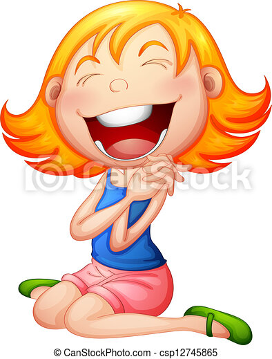 illustration of a very happy child on a white background clip art rh canstockphoto com clipart children dancing clipart children playing
