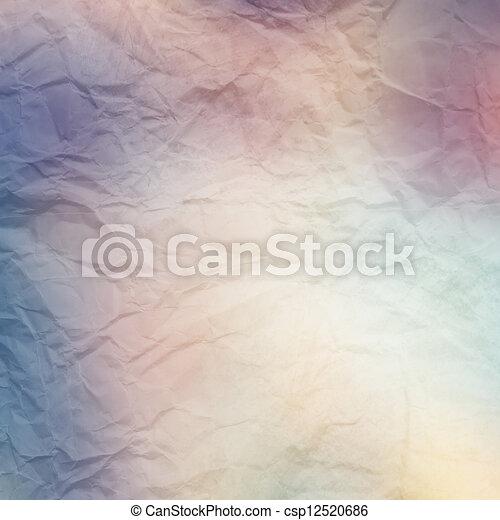 A Vintage Textured Paper Background