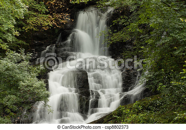 A waterfall in central Ireland - csp8802373