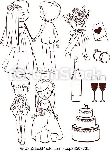 A wedding - csp23507735