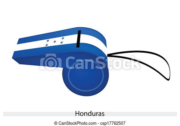 A Whistle of The Republic of Honduras - csp17762507