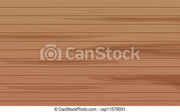 a wooden placemat - csp11579031