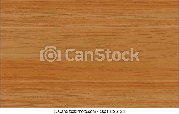 A wooden tile - csp18795128