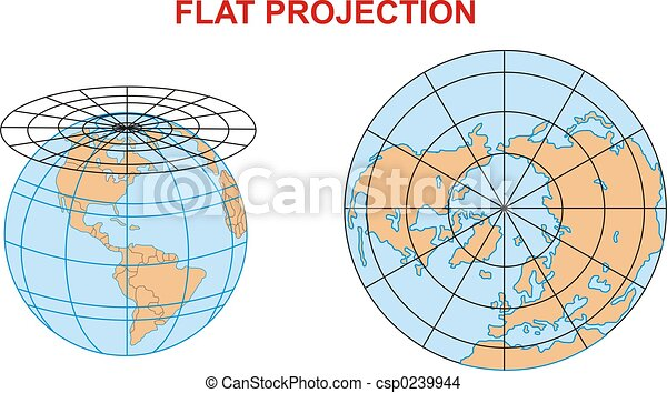 A world flat project map of the world flat projection a world flat project csp0239944 gumiabroncs Image collections