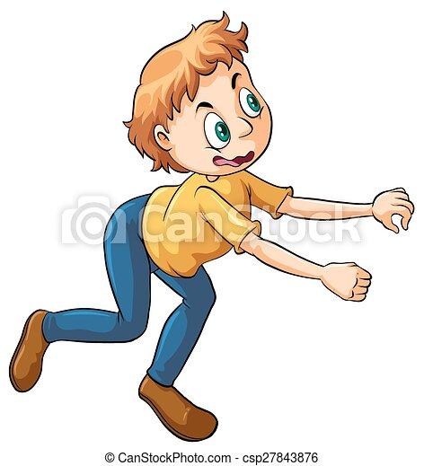 A young boy - csp27843876