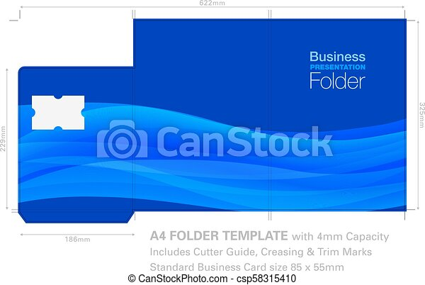 A4 folder presentation folder a4 template with background graphic a4 folder csp58315410 accmission Images