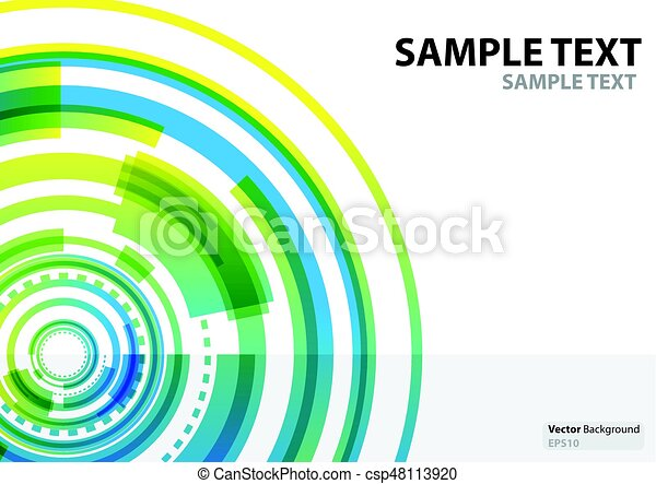a4 template technology abstract theme. template annual report, Presentation Abstract Template, Presentation templates