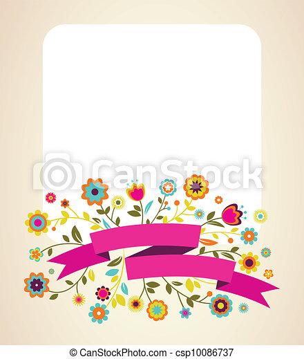 aankondiging, kaart, groet, uitnodiging, trouwfeest, of - csp10086737