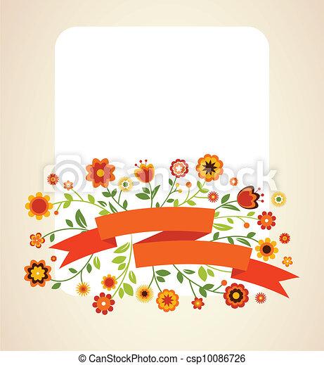aankondiging, kaart, groet, uitnodiging, trouwfeest, of - csp10086726