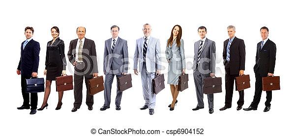 aantrekkelijk, jonge, zakenlui - csp6904152