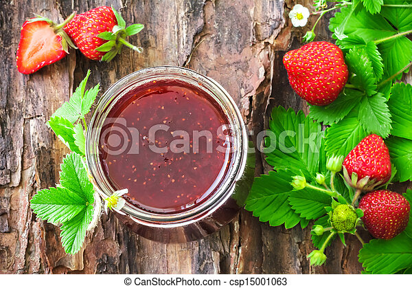 aardbei jam - csp15001063