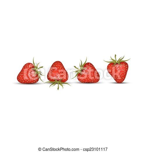 aardbei, rood - csp23101117