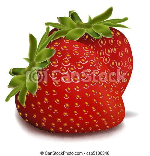 aardbeien - csp5106346