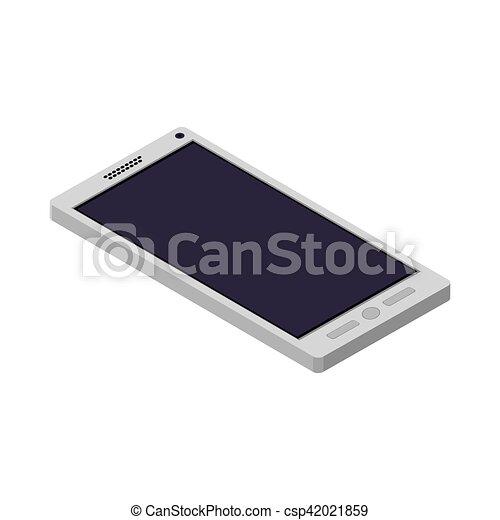 Teléfono técnico con botones acostados - csp42021859