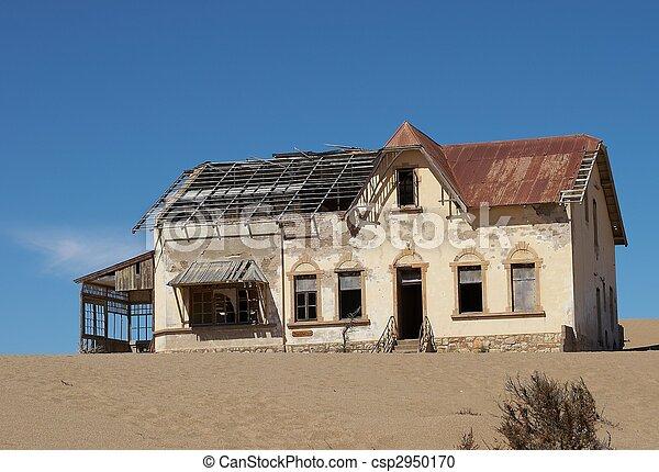 abandonado, casa - csp2950170