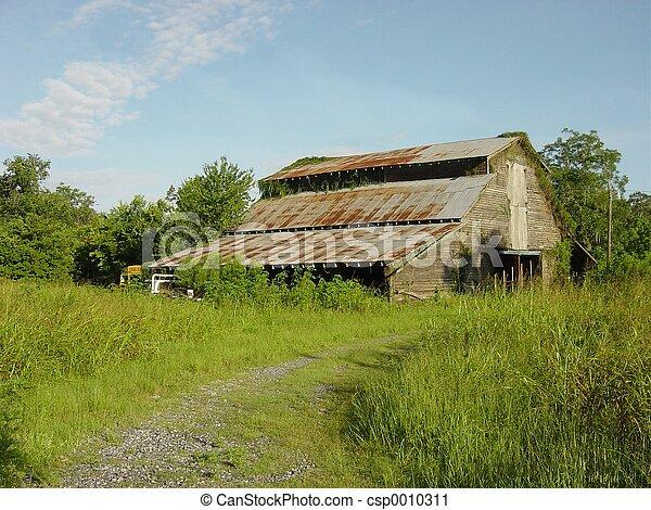 Abandoned barn - csp0010311