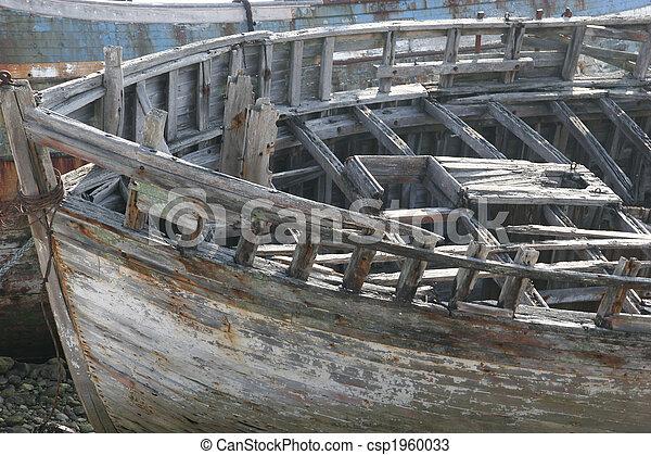 abandoned boat - csp1960033