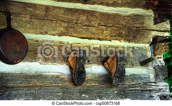 Abandoned Boots - csp50873168