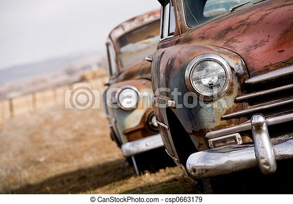 abandoned cars - csp0663179