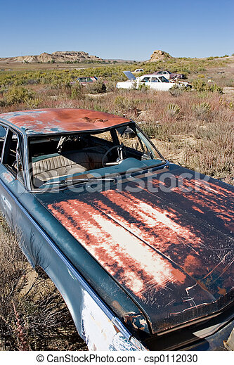 abandoned cars - csp0112030