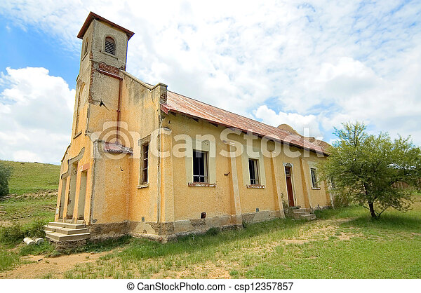 Abandoned church building - csp12357857