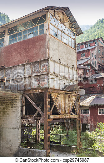 abandoned factory - csp29745987