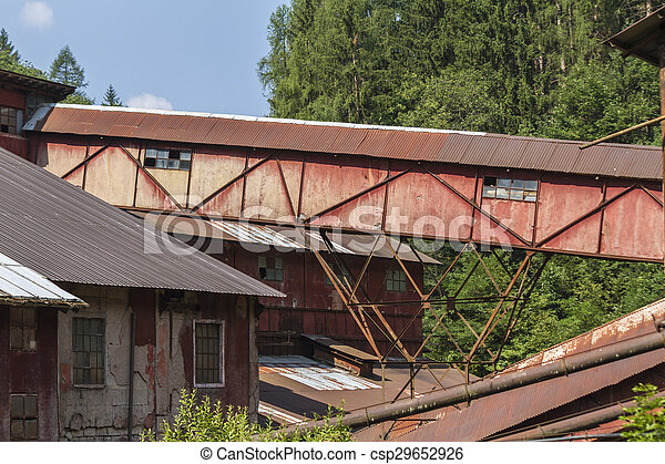 abandoned factory - csp29652926