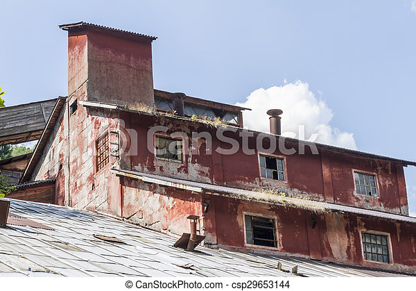 abandoned factory - csp29653144