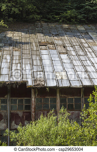 abandoned factory - csp29653004