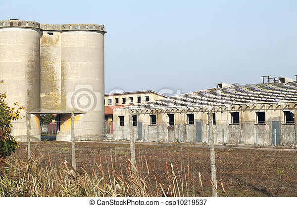 Abandoned factory - csp10219537
