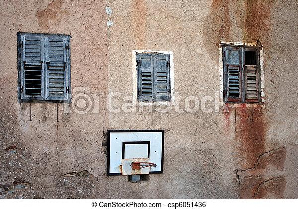 abandoned house - csp6051436