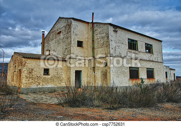 Abandoned Industrial mine - csp7752631