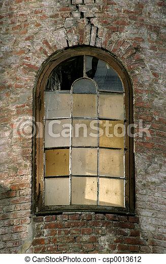 Abandoned Window - csp0013612